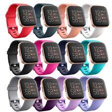Reemplazo Silicona Deporte Pulsera Correa Para Fitbit Versa 2/Versa Lite/Versa