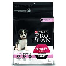 Pro Plan Medium Puppy Sensitive Skin Dog Food - 3kg