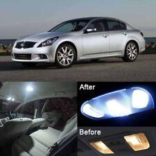 11Pcs White Interior LED Lights Package Kit For Infiniti G35 G37 Sedan 07-13 #E