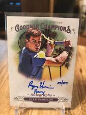 2018 Upper Deck Goodwin Champions Autograph Ryan Harrison Tennis 23/25