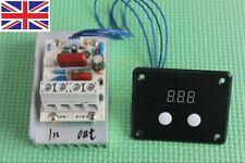 AC 220 V 10000 W SCR Régulateur de Tension Contrôle De Vitesse gradation gradateurs Thermostat