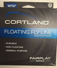 Cortland Fairplay Fly Line WF6F 84' NIB with FREE SHIPPING