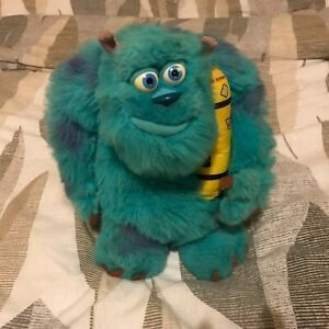 Large Monsters Inc Sulley 14'' Glowing Bedtime Talking Sulley Teddy Soft Plush