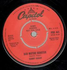 "SAMMY HAGAR Turn Up The Music 7"" VINYL UK Capitol 3 Track Demo B/W Red And Bad"