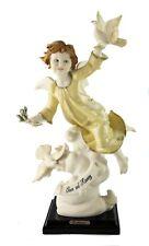 Florence Italian Giuseppe Armani Peace And Harmony Statue Figurine