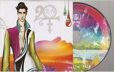 PRINCE twenty ten 20 10 CD ALBUM PROMO card sleeve
