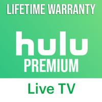 HULU Live TV PREMIUM Account - LIFETIME WARRANTY  l   QUICK DELIVERY