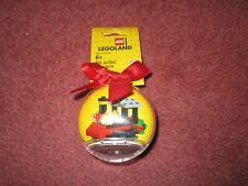 LEGO CHRISTMAS LEGOLAND TRAIN ORNAMENT/BAUBLE 853810 - NEW
