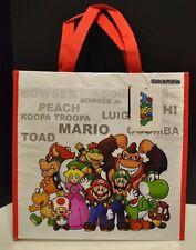 Nintendo Super Mario Bros & Friends Peach Luigi Yoshi Reusable Tote Bag NEW