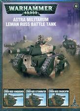 Warhammer 40k - Astra Militarum Leman Russ Battle Tank Brand New! - 47-06