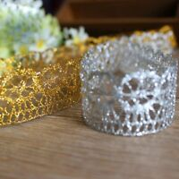 New Trims Flower Crochet Lace Edge Ribbons Bags Sewing On Accessory 10 Yards