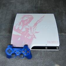 Sony PS3 Slim Final Fantasy XIII Lightning Edition 250GB Ceramic White Pink 3.55