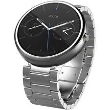 NEW Motorola Moto 360 46MM Android Wear Bluetooth Smart Watch First Gen Steel