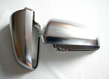 Für Audi A4 S4 8E Alu Matt Spiegel Abdeckung Spiegel Kappe Gehäuse Aluminium