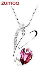 Swarovski Pink Goddess Necklace by ZUMQA COD PAYPAL