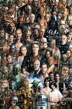 STAR Wars: caratteri-Maxi poster 61 CM x 91.5 cm Nuovo e Sigillato