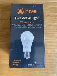 Hive Active Light Bulb - 9w Warm White (E27)