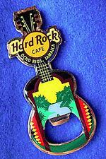 OCHO RIOS BOTTLE OPENER JAMAICAN WATERFALL SCENE GIBSON GUITAR Hard Rock Cafe
