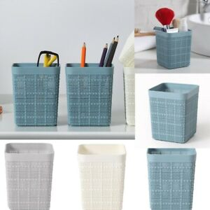 Hollow Pen Pencil Pot Holder Cosmetic Stationery Organizer Brush Container New