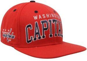 Reebok NHL Washington Capitals Retro Flat Brim Snapback Hat