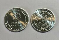 1 oz OPM Ohio Precious Metals .999 Fine Silver Round, Made in the USA