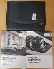 GENUINE BMW 6 SERIES GRAN COUPE HANDBOOK OWNERS WALLET+NAV 2013-2017 #13097
