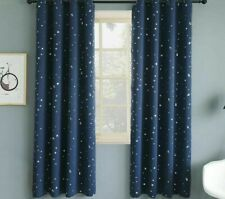 Stamping Star Window Curtains Bedroom Blackout Room Kitchen Voile Tulle Drapes