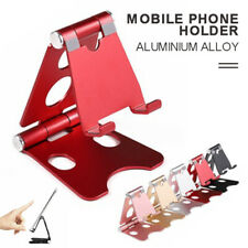 Foldable Aluminum Desktop Mobile Phone Stand Holder Adjustable Tablet Bracket