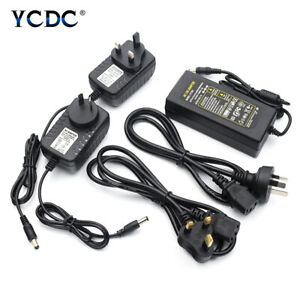 5V 12V 24V 1-8A Power Supply Adapter AC TO DC Transformer  For Strip Lights AAAA