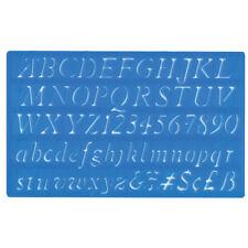 Major Brushes 20mm Italic Lettering Stencil
