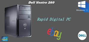 Dell Vostro 260 Intel i3-2120 6Gigs 500Gig HDD Windows 10 Pro 64x