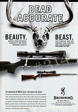 BROWNING A-BOLT RIFLE ADVERT - 2006 Guns Shooting Advertisement