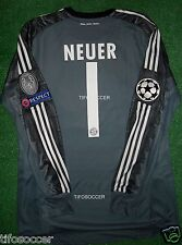 Neuer Fc Bayern Munich Match Un Worn Shirt / Prepared For Match Cl.