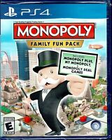 Monopoly Family Fun Pack Ps4 New Monopoly Plus My Monopoly Monopoly Deal All 3