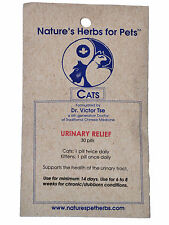 Natures Herbs for Pets, Urinary Relief for Cats, 30 ct