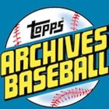 2017 Topps Archives Baseball U Pick 10