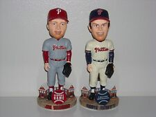 JIM BUNNING & ROBIN ROBERTS Phillies Bobble Head Set Cooperstown Edition New**