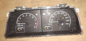 Daihatsu Charade instrument panel cluster assembly  <==1991 model LHD