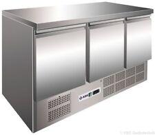 KBS KTM 300 Kühltisch Umluftkühltisch 3 Türen 1370x700mm Kühlschrank