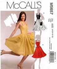 McCall's Misses' Dress Pattern M5657 Size 4-12 UNCUT