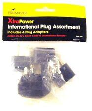 ProMaster XtraPower International Plug Assortment #3241 4 Plug Adapters New
