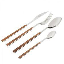 Sushi King Pinti Design Mahogany Cutlery 24 Pieces Quality