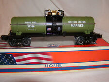 Lionel 6-39386 Made U.S.A. Marines Tank Car O 027 Armed Forces Collection New