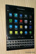 "BlackBerry Passport SQW100-1 32GB 4G LTE locked to ROGERS Phone 4.5"" 3GB Black"