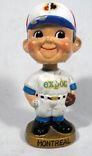 Vintage 1960s Montreal Expo Baseball Player Bobblehead Japan