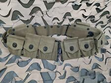 Ww1 Us Military Mills Khaki Canvas Cartridge Belt September 1918