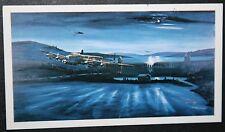 Lancaster Bomber   617 Squadron  Dam Buster Raid  Action Card  ### VGC
