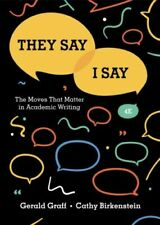 They Say/I Say (4th Edition)