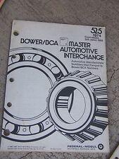 1974 Bower / BCA Master Automotive Interchange Manual 525 Domestic Import Car  R