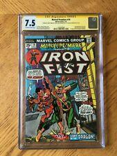 Marvel Premiere #16 2nd Iron Fist. Signed Len Wein Roy Thomas Larry Hama CGC 7.5